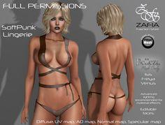 Full Perm- ZAFIA SoftPunk Lingerie Belleza | por ZAFIA Fashion Store