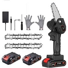 Shopping Cart Cordless Electric Chainsaw, Hand Chain Saw, Mini Chainsaw, Electric Saw, Carving Designs, Cool Inventions, Wood Cutting, Pure Copper, Pruning Shears