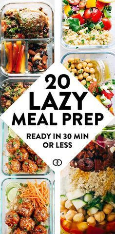 Recipes Breakfast Lunch These 15 meal prep for the week are healthy and super easy to try for beginners! AMAZING recipe ideas ready in 30 minutes or less! So good to prep for breakfast, lunch, and dinners! Easy Healthy Meal Prep, Easy Healthy Recipes, Healthy Snacks, Easy Meal Prep Lunches, Weekly Lunch Meal Prep, Easy Healthy Lunch Ideas, Meal Prep Dinner Ideas, Healthy Meal Planning, Easy Meal Ideas