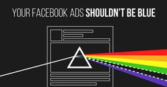 Your Facebook Ads Shouldn't Be Blue - color psychology - neuromarketing
