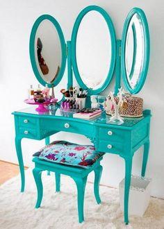 10 Absolutely Delightful Little Girl's Dressing Tables - Rilane