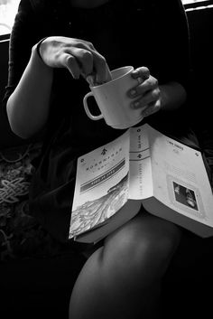 My passion for books and coffe!