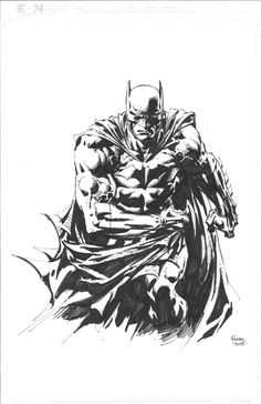 Batman - David Finch Comic Art