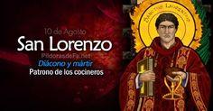 san lorenzo diacono martir patrono de cocineros