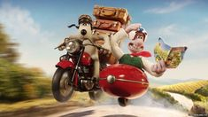 Wallace and Gromit get packing for new TV advert.
