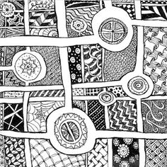 Zentangle by Two Pieces of my Heart.