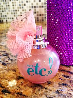 Rue 21 ect! Perfume...I think this little bottle is so cute & girly..sweet scent & inexpensive :)