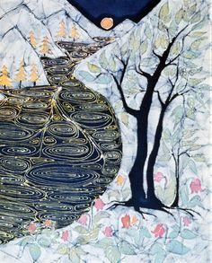 Lothlorien, by Carol Law Conklin, Amity Farm Batik