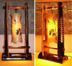Foto de Lámpara de bambú en es.Made-in-China.com