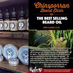 The best selling beard oil from Cahoonas