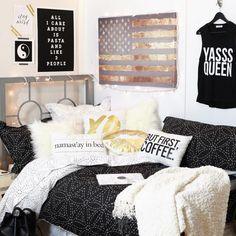 This bedroom though, YAAAAS | dormify.com