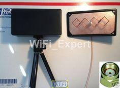 WiFi Antenna 5 8GHz Double Biquad Mach 5 Tripod Wireless Booster Long Range AC - 30$