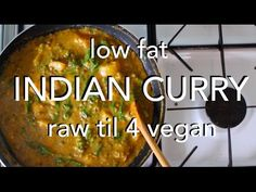 -ingredients- - potatoes - dry lentils - 1 stalk broccoli - 3 cups spinach - 1 carton/litre coconut milk or other dairy free milk - this is not canned c. Vegan Curry, Raw Vegan, Vegan Vegetarian, Vegan Indian Recipes, Raw Food Recipes, Cooking Recipes, Vegan Foods, Vegan Dishes, Starch Solution