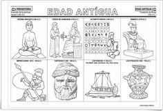"""""""La Edad Antigua"""" (Fichas de la Línea del Tiempo)"""