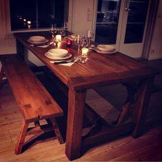 Romuritari - Lankkupöytä