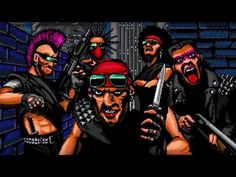 Go after mighty gangs in this arcade shooter. Video Game Industry, Widescreen Wallpaper, Wallpapers, Official Trailer, Pixel Art, Deadpool, E3 2016, Animation, Superhero