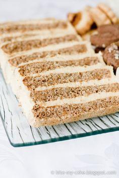 Bite my cake: Torta od oraha i naranče / Walnut orange cake