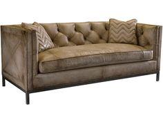 Living Room Sofas - Elite Interiors - Myrtle Beach, SC Hickory Furniture, Leather Furniture, Sofa Furniture, Living Room Furniture, Leather Sofas, Tufted Sofa, Sofa Upholstery, Cushions On Sofa, Hamilton