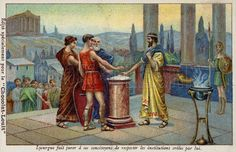 size: Giclee Print: Lycurgus of Sparta Making His Fellow Citizens Swear to Respect the Institutions Established by Him : Athens And Sparta, History Images, Ancient History, Citizen, Digital Image, Find Art, Framed Artwork, Giclee Print, Respect