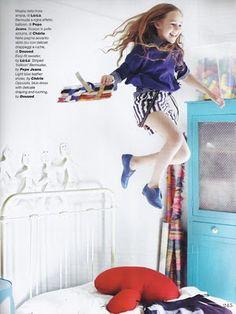 Sarah Clary for Vogu