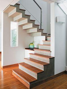 Seis escadas de design arrojado e variados materiais - Casa