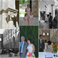 Searching for the best wedding location in Italy? It is possible to celebrate civil wedding inside the famous Abbey of San Galgano.