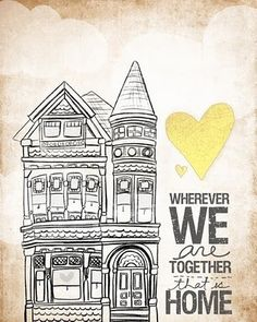 """home // """"wherever we are together"""" by vol25 on etsy http://www.etsy.com/shop/vol25?ref=seller_info"""