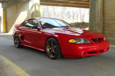 1994 Ford Mustang Svt Cobra- thinking this would be the color I'd like to go with on my wheels Sn95 Mustang, New Edge Mustang, Ford Mustang Shelby Cobra, Ford Shelby, Saleen Mustang, Blue Mustang, Car Ford, Ford Gt, Ford Mustang History