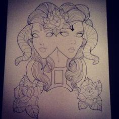 nice Top 100 gemini tattoos - http://4develop.com.ua/top-100-gemini-tattoos/