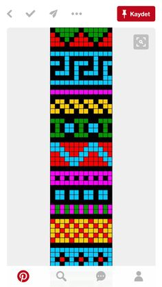 Bead Crochet Patterns, Peyote Patterns, Beading Patterns, Cross Stitch Patterns, Loom Bracelet Patterns, Bead Loom Bracelets, Friendship Bracelets Designs, Beads Pictures, Alpha Patterns