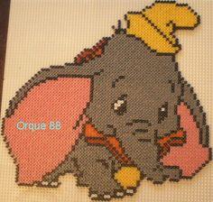 Dumbo Disney hama perler by marmotte88130