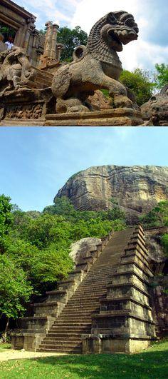 Yapahuwa Fortress, Sri Lanka #SriLanka #Yapahuwa