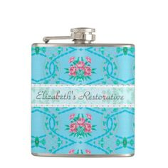 Vintage Pink and Blue Floral Wallpaper Pattern Hip Flasks you will get best price offer lowest prices or diccount couponeReview          Vintage Pink and Blue Floral Wallpaper Pattern Hip Flasks Here a great deal...