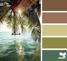 Love these colors!... Mental Vacation