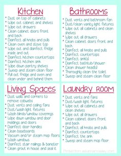 Checklist for everything you should clean when moving into a new home                                                                                                                                                                                 More