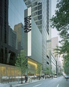 The Modern Museum of Art (also known as MoMA) is one of the most interesting New York City architectural landmarks. See what others top our list.