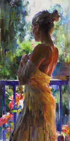The Garmash's incredible talent is only matched by their love and career stories. Michael and Inessa won several International awards for their portrait work and are considered to be one of the most important figurative artists working on the US market. Woman Painting, Figure Painting, Fine Art, Portrait Art, Beautiful Paintings, Figurative Art, Female Art, Amazing Art, Art Drawings