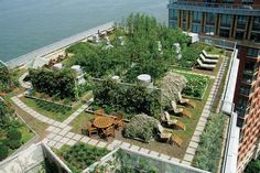 Cool Green Roof houses leisure, farming and mechanical