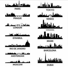 Which skyline do you prefer? - Architecture and Home Decor - Bedroom - Bathroom - Kitchen And Living Room Interior Design Decorating Ideas - #architecture #design #interiordesign #homedesign #architect #architectural #homedecor #realestate #contemporaryar