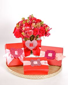 Valentine's Day - for flower vase