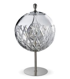 Sfera crystal table lamp by Michele De Lucchi for Baccarat.