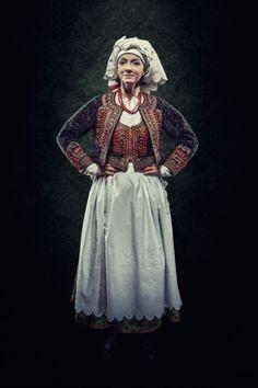 Folk costume from Kraków, Poland.