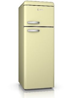 Swan SR11010CN Retro Top Mount Fridge Freezer in The range of beautifully designed Swan Vintage Fridge-Freezers combine modern A  energy efficiency with a classic retro look that will make this fridge a real design statement in your kitchen. The des http://www.MightGet.com/february-2017-2/swan-sr11010cn-retro-top-mount-fridge-freezer-in.asp