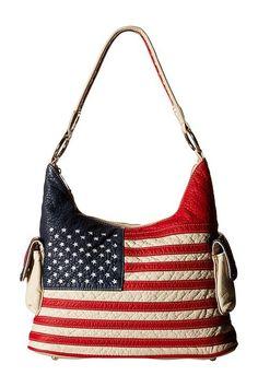 M&F Western Americana Bucket Bag (Multi) Bags - M&F Western, Americana Bucket Bag, N7587097, Bags and Luggage General, Bag, Bag, Bags and Luggage, Gift, - Street Fashion And Style Ideas