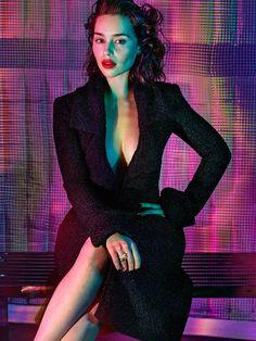 Emilia Clarke by Hunter & Gatti for GQ UK October 2015 - Chanel Fall 2015