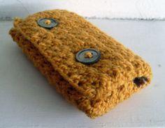 ˜Vintage Phone Case Tutorial-Crochet