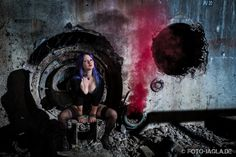 Lost Place Outdoor Shooting mit Model Illuania