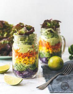 Mason Jar Salat