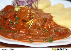 Multicooker, Thai Red Curry, Food And Drink, Beef, Ethnic Recipes, Nova, Red Peppers, Meat, Steak