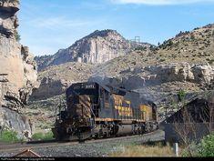 RailPictures.Net Photo: DRGW 5371 Denver & Rio Grande Western Railroad EMD SD40T-2 at Castle Gate, Utah by Bill Hemb